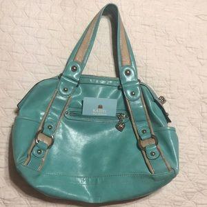 Turquoise purse
